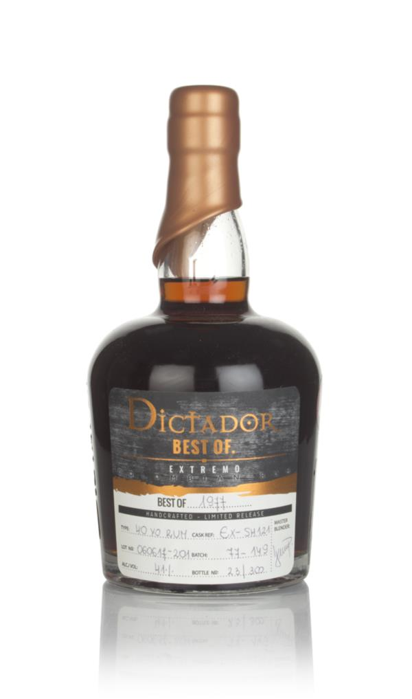 Dictador Best of 1977 - Extremo Dark Rum