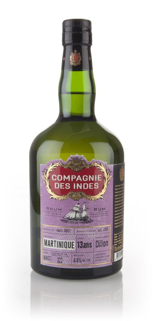 Dillion 13 Year Old - Martinique Rhum (Compagnie des Indes) Rhum Agricole Rum
