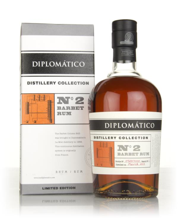 Diplomatico No.2 Barbet Rum - Distillery Collection 3cl Sample Dark Rum
