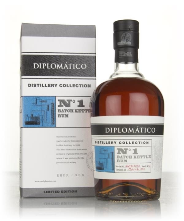 Diplomatico No.1 Batch Kettle Rum - Distillery Collection 3cl Sample Dark Rum