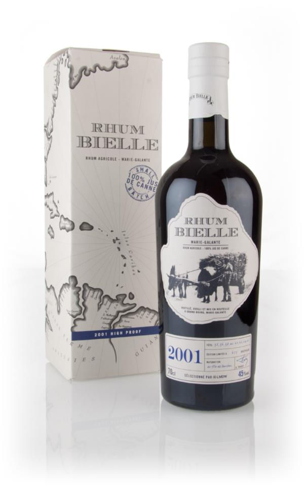 Bielle 2001 High Proof 3cl Sample Rhum Agricole Rum