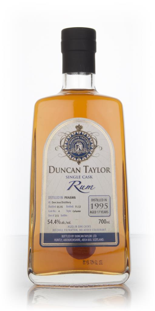 Don Jose 17 Year Old 1995 Rum (cask 4) (Duncan Taylor) Dark Rum