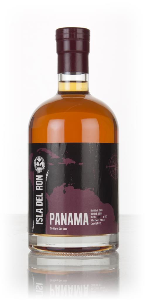 Panama Don Jose 2003 (bottled 2015) - Isla del Ron Dark Rum