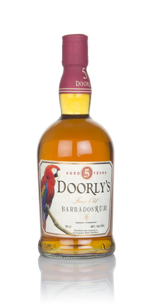 Doorly's 5 Year Old 3cl Sample Dark Rum