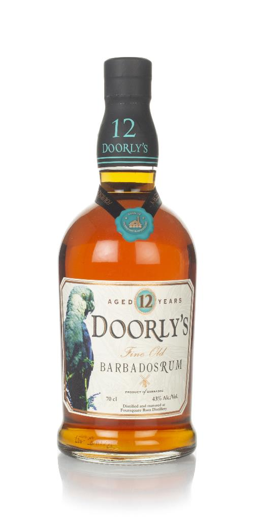 Doorlys 12 Year Old Dark Rum