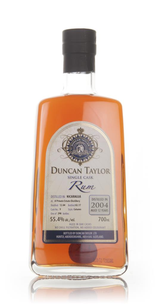 Nicaraguan Rum 12 Year Old 2004 (cask 9) - Single Cask Rum (Duncan Tay Dark Rum