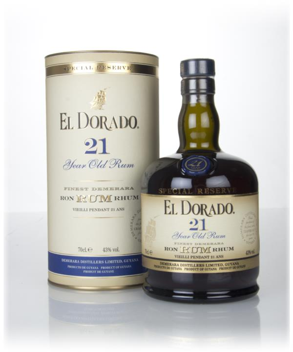 El Dorado 21 Year Old Special Reserve 3cl Sample Dark Rum