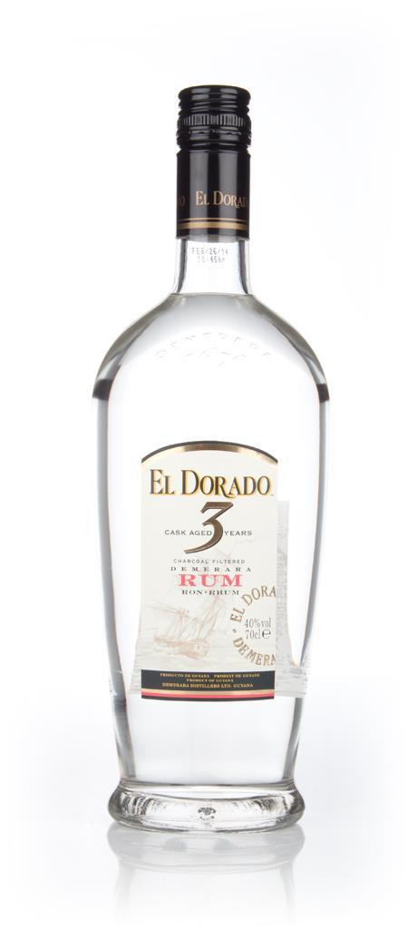 El Dorado 3 Year Old White White Rum