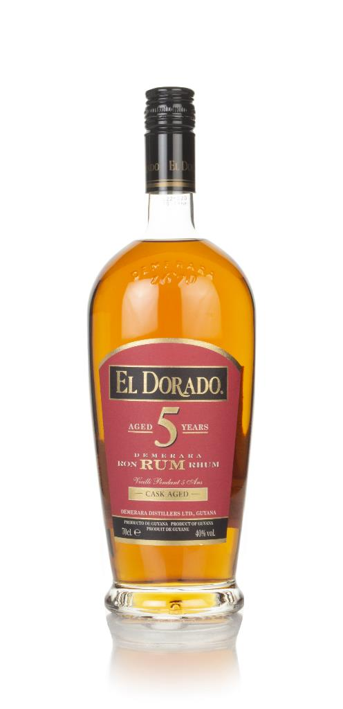 El Dorado 5 Year Old Gold Rum 3cl Sample Dark Rum