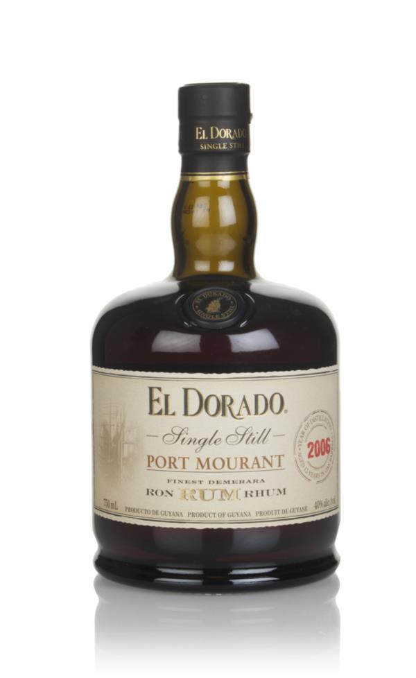 El Dorado Single Still - Port Mourant 2006 Dark Rum