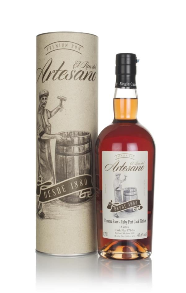 El Ron del Artesano 8 Year Old - Ruby Port Finish Dark Rum