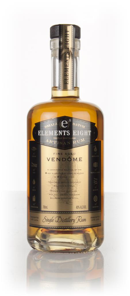 Elements 8 Gold Rum 3cl Sample Dark Rum