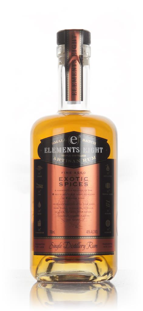 Elements 8 Spiced Rum 3cl Sample Spiced Rum