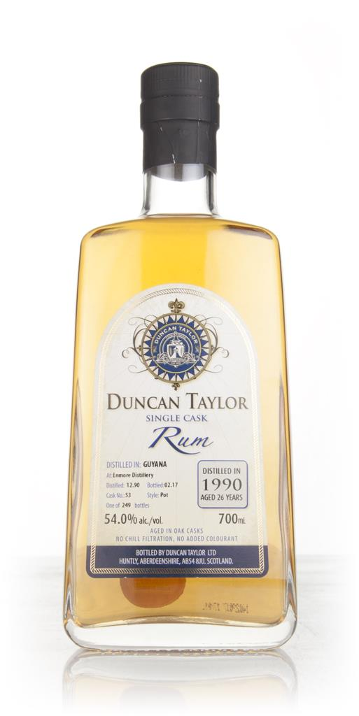 Enmore 26 Year Old 1990 (cask 53) - Single Cask Rum (Duncan Taylor) 3c Dark Rum 3cl Sample