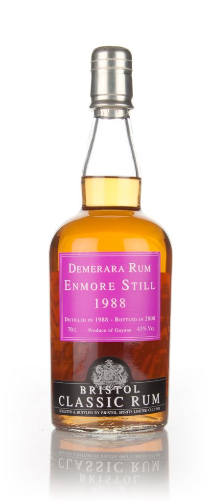Enmore Still 1988 (Bottled 2008) - Bristol Spirits 3cl Sample Dark Rum