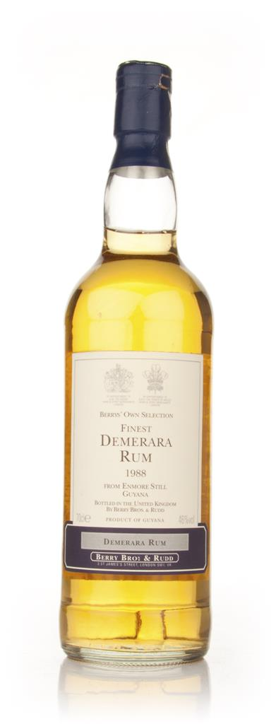 Enmore Still 19 Year Old 1988 Demerara Rum (Berry Bros. & Rudd) Dark Rum