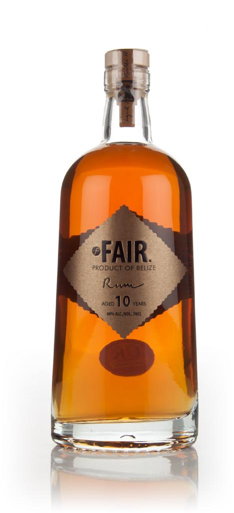 FAIR. 10 Year Old Dark Rum