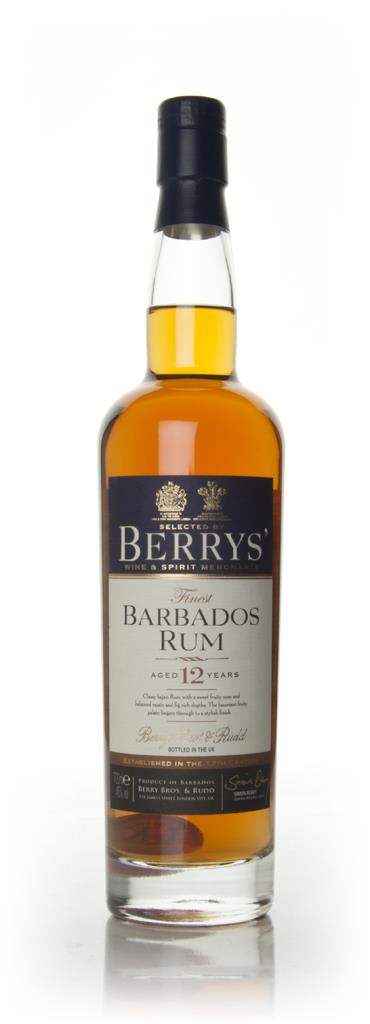 Barbados Rum 12 Year Old 1998 (Berry Bros. & Rudd) Dark Rum
