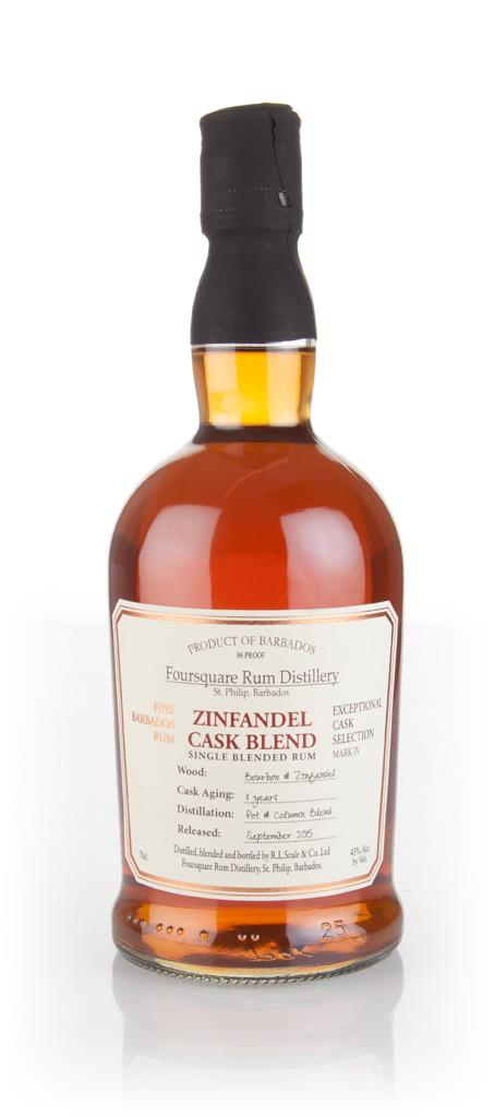Foursquare 11 Year Old Zinfandel Cask Blend - Exceptional Cask Selecti Dark Rum