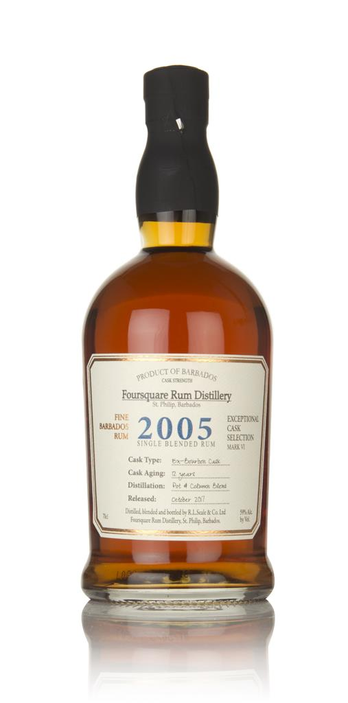 Foursquare 12 Year Old 2005 - Exceptional Cask Selection Dark Rum