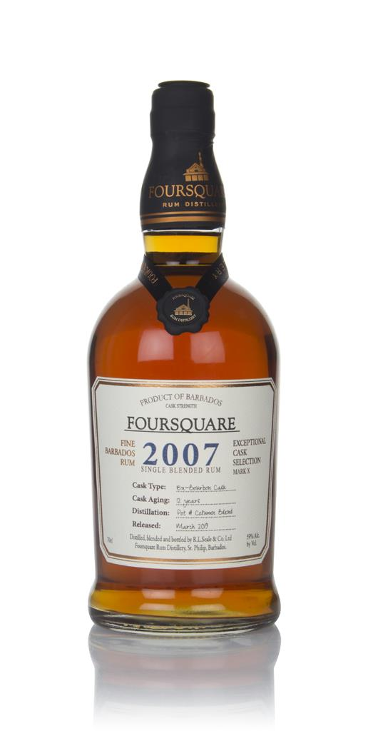 Foursquare 12 Year Old 2007 - Exceptional Cask Selection Dark Rum