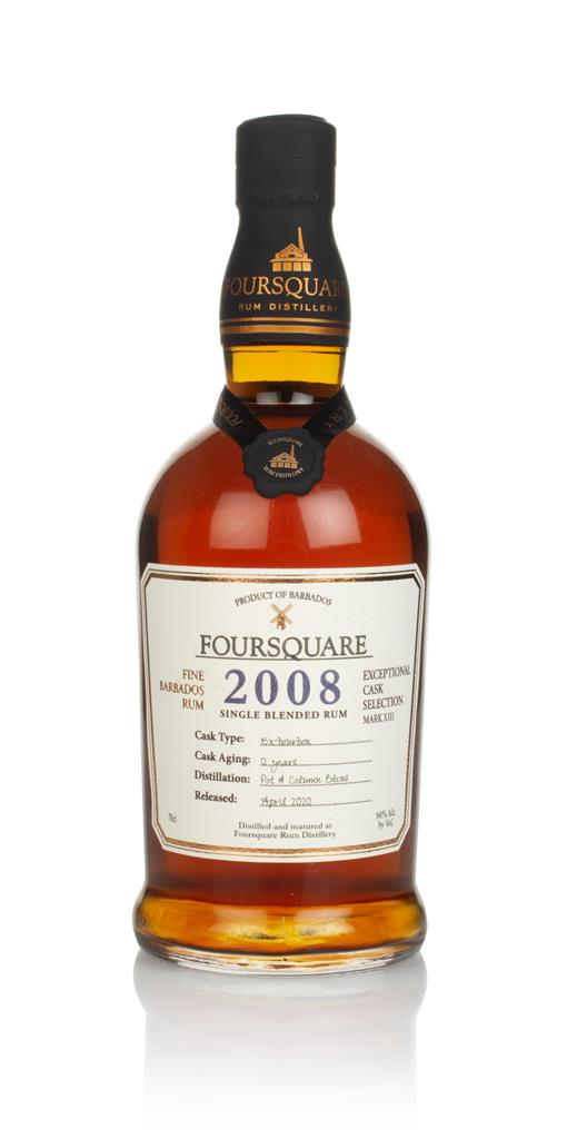 Foursquare 12 Year Old 2008 - Exceptional Cask Selection Dark Rum