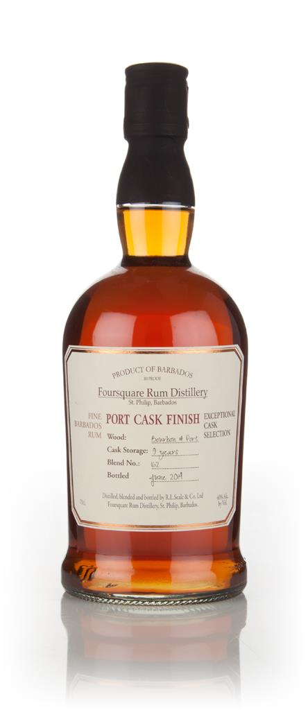 Foursquare 9 Year Old Port Cask Finish - Exceptional Cask Selection Dark Rum
