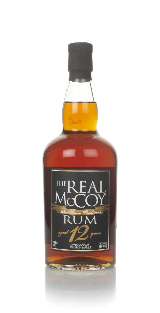 The Real McCoy 12 Year Old 3cl Sample Dark Rum