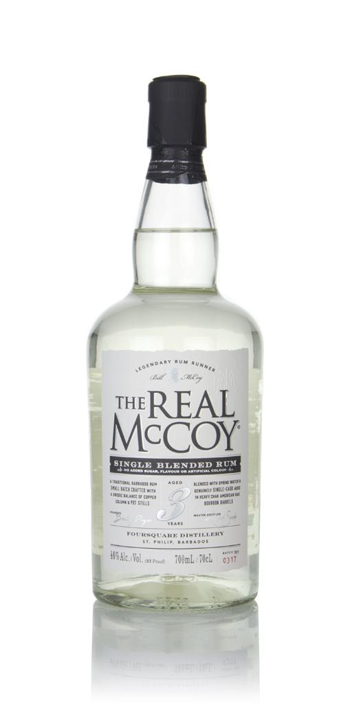 The Real McCoy 3 Year Old Single Blended White Rum
