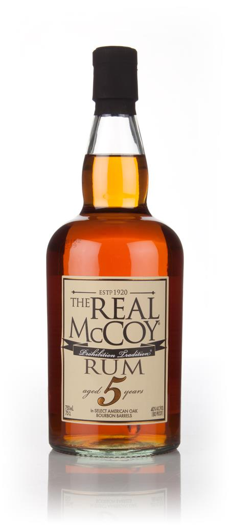 The Real McCoy 5 Year Old 3cl Sample Dark Rum