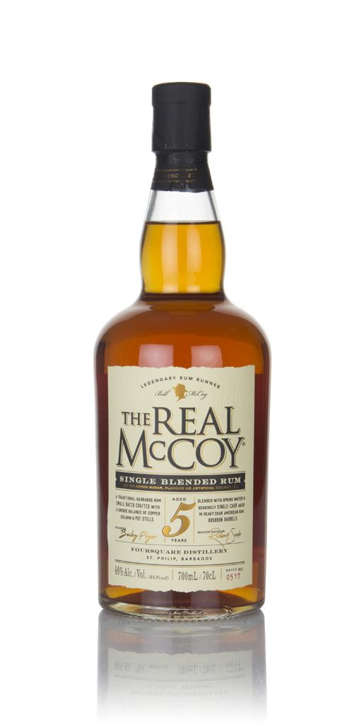 The Real McCoy 5 Year Old Single Blended Dark Rum