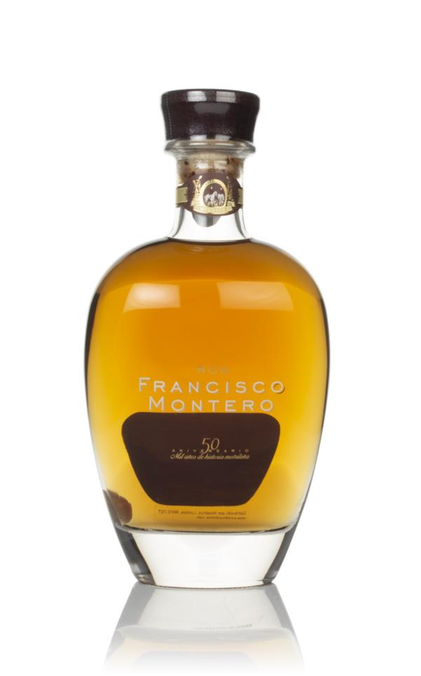 Francisco Montero 50th Anniversary Rum 3cl Sample Dark Rum
