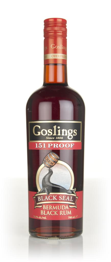Gosling's Black Seal 151 Proof 3cl Sample Dark Rum