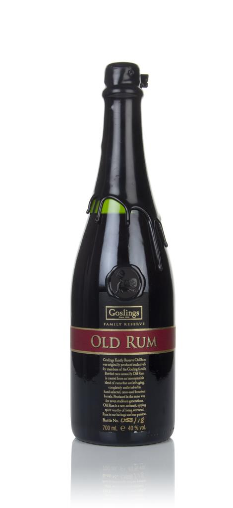 Goslings Family Reserve Dark Rum