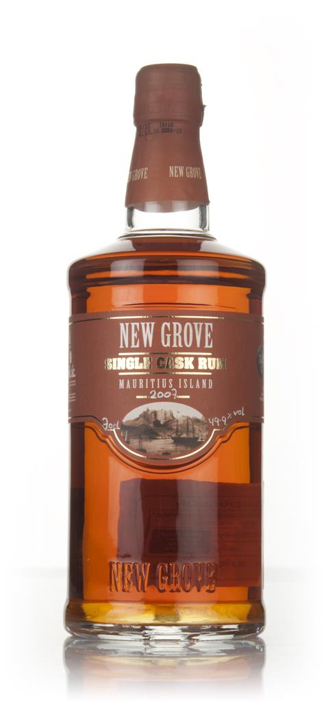 New Grove 2007 Single Cask Rum (cask 174) Dark Rum
