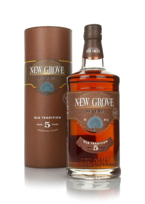 New Grove Old Tradition 5 Year Old Rum 3cl Sample Dark Rum