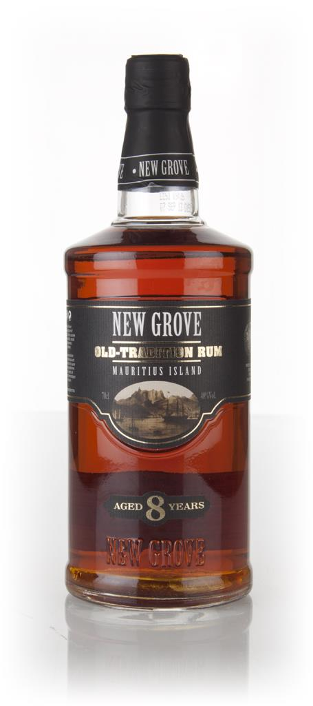 New Grove Old Tradition 8 Year Old Rum 3cl Sample Dark Rum