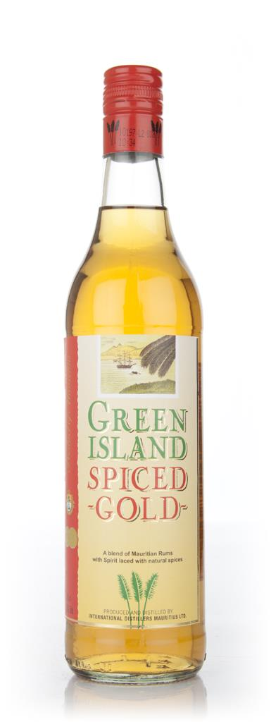 Green Island Spiced Gold Rum 3cl Sample Spiced Rum