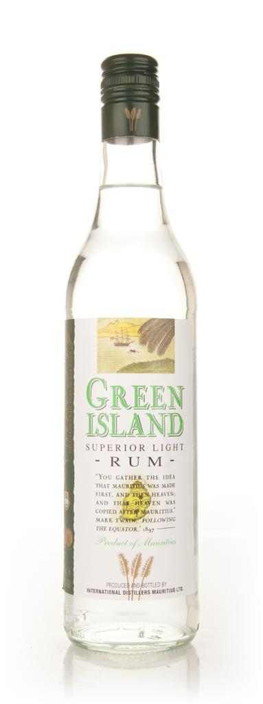 Green Island Superior Light Rum 3cl Sample White Rum