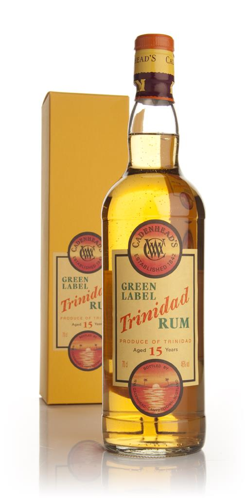 Green Label 15 Year Old Trinidad Rum (WM Cadenhead) Dark Rum