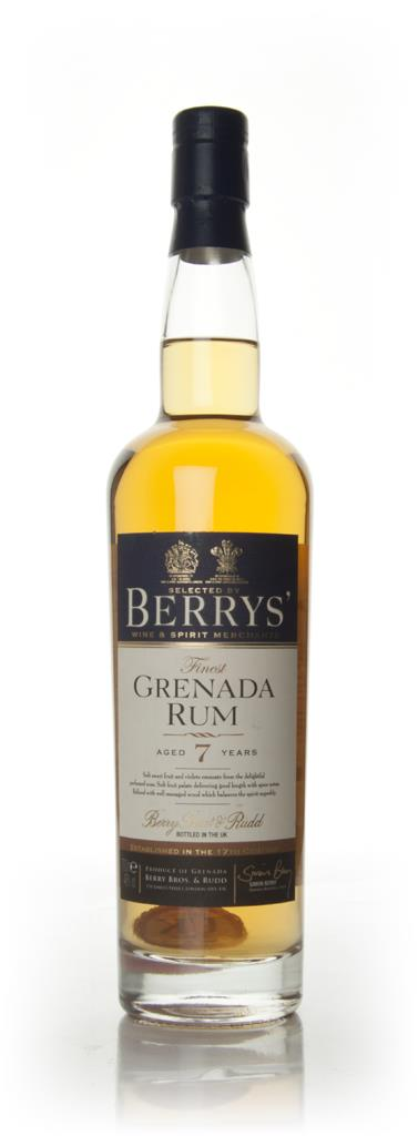 Grenada 7 Year Old (Berry Bros. & Rudd) Dark Rum