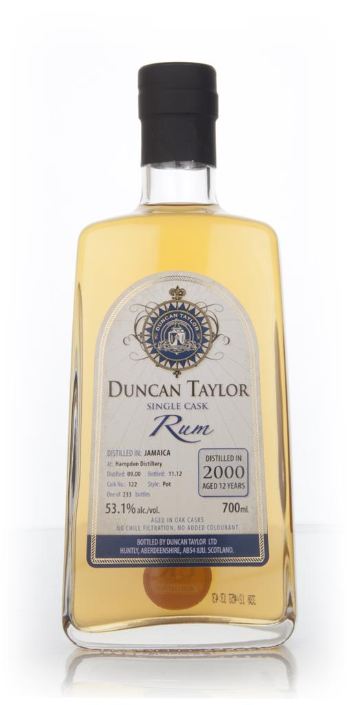 Hampden 12 Year Old 2000 Rum (cask 122) (Duncan Taylor) Dark Rum
