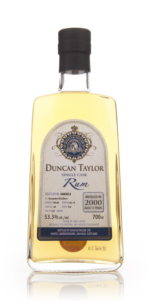 Hampden 13 Year Old 2000 (cask 34) - Single Cask Rum (Duncan Taylor) Dark Rum