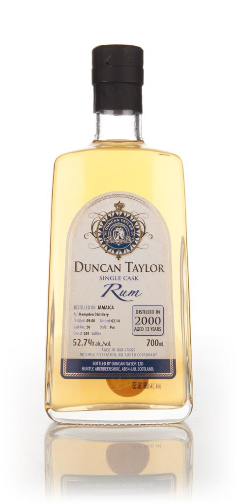 Hampden 13 Year Old 2000 (cask 50) - Single Cask Rum (Duncan Taylor) Dark Rum