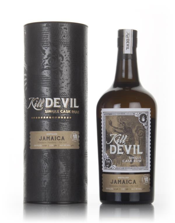 Hampden 18 Year Old 1998 Jamaican Rum - Kill Devil (Hunter Laing) Dark Rum