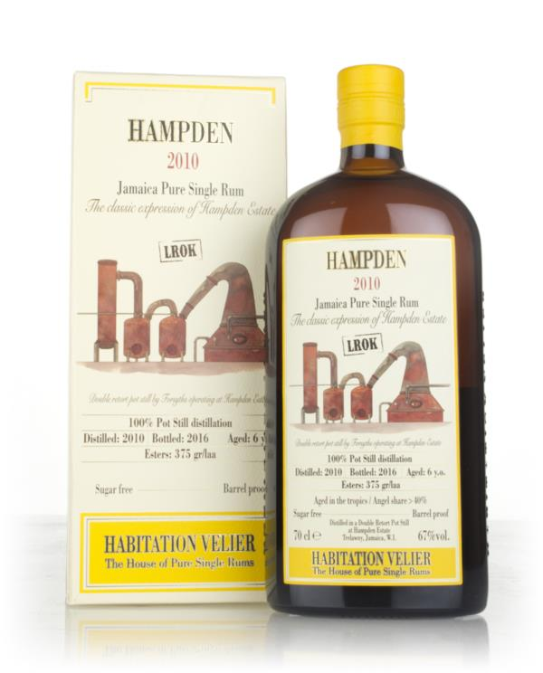 Hampden 6 Year Old 2010 - Habitation Velier Dark Rum