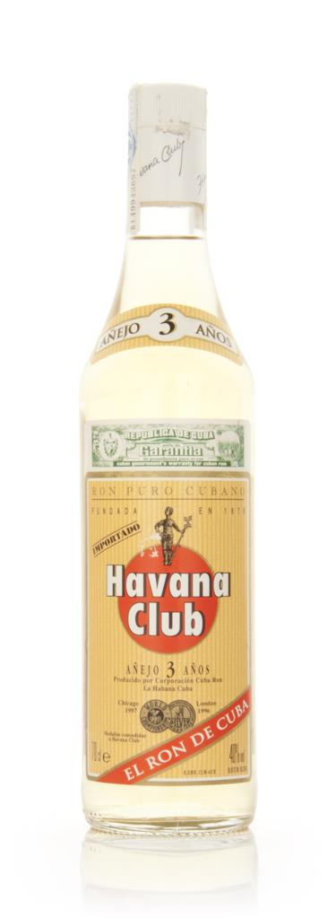 Havana Club 3 Year Old Anjeo - 1990s White Rum