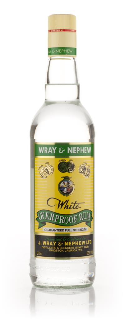 J Wray and Nephew White Overproof 3cl Sample White Rum