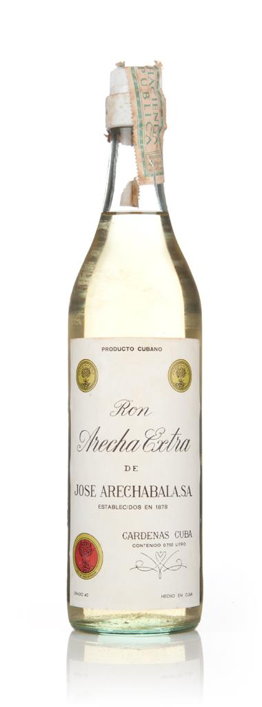 Ron Arecha Extra de Jose Arechabala - 1960s 3cl Sample White Rum