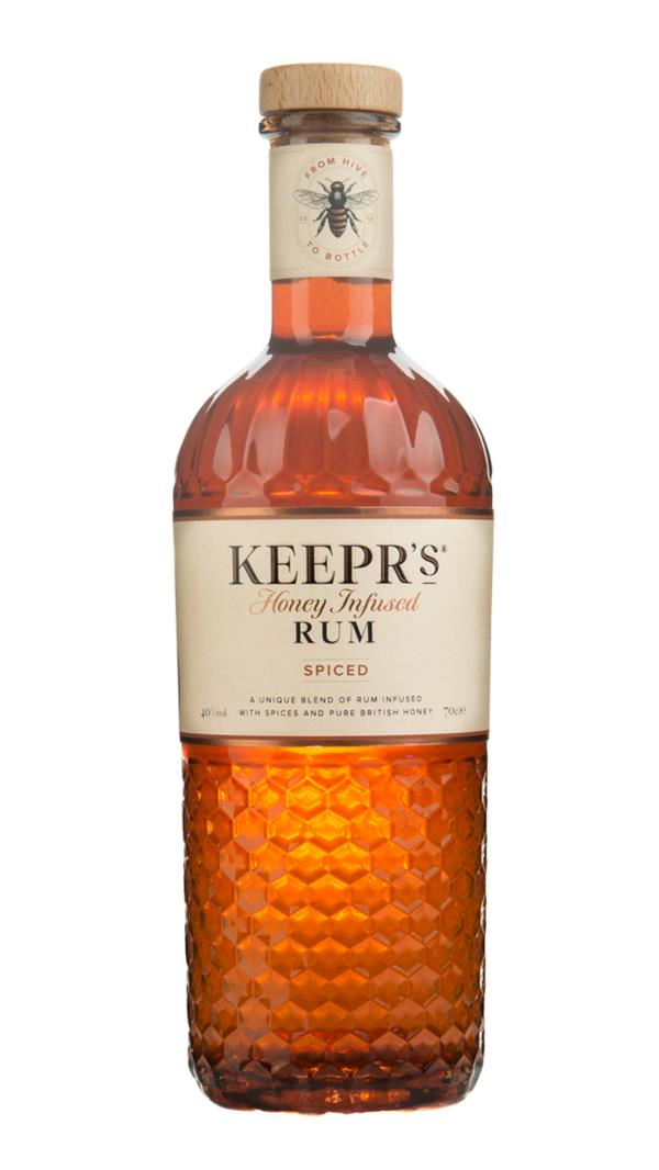 Keepr's Cotswold Honey Spiced Rum 3cl Sample Spiced Rum